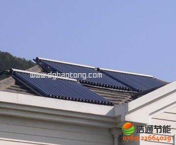 别墅型太阳能热水工程系统解决方案