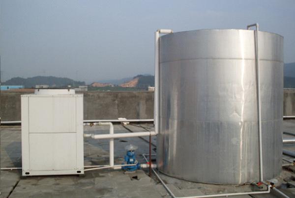 发廊、美容院采用空气能热泵热水工程―[东莞市东城区舒雅美容院]