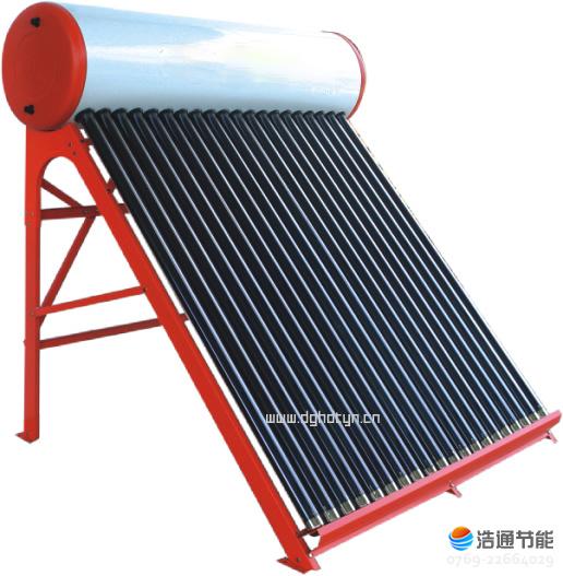 浩通太阳能热水器家用系列参考图片