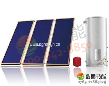 天孜平板太阳能热水器――别墅分体承压太阳能热水器