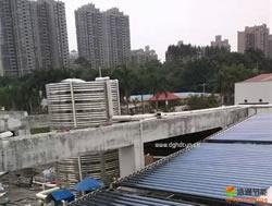 中铁建工集团1.5吨太阳能热水器工程项目安装实例