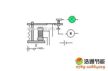 太阳能热水器电磁阀结构图