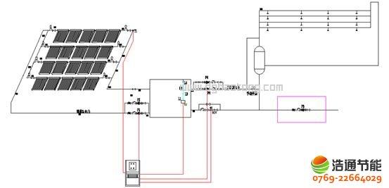 军营部队太阳能热水工程系统解决方案