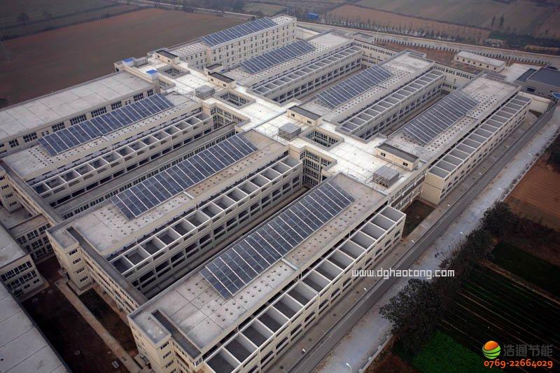 监狱太阳能热水工程系统解决方案