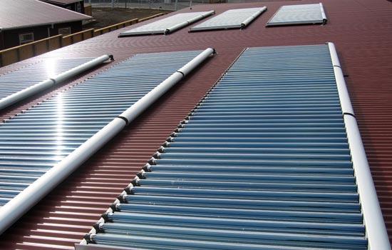 公共洗浴中心太阳能热水工程系统解决方案