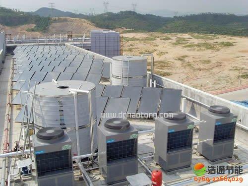 浩通热水工程方案:印染行业空气能热水工程系统解决方案