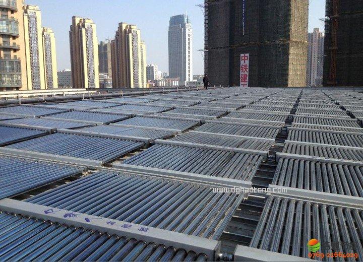 宾馆/酒店太阳能热水工程系统设计说明图
