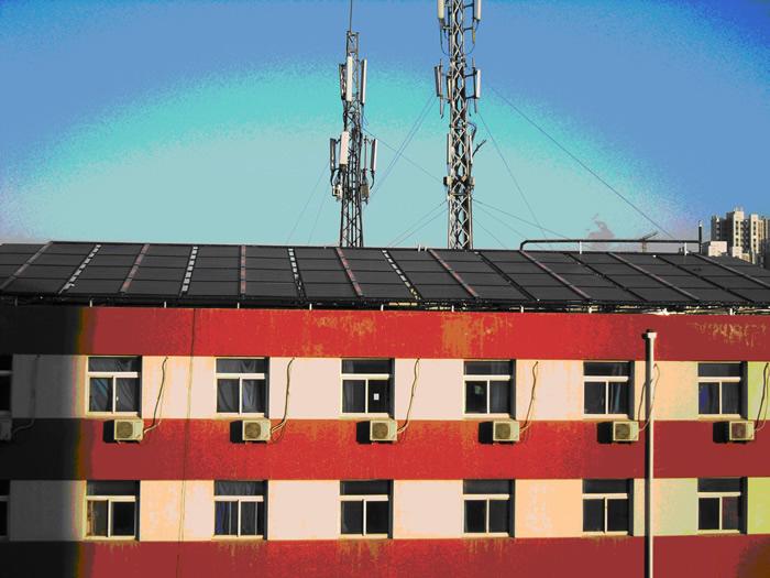 学校太阳能热水工程系统解决方案