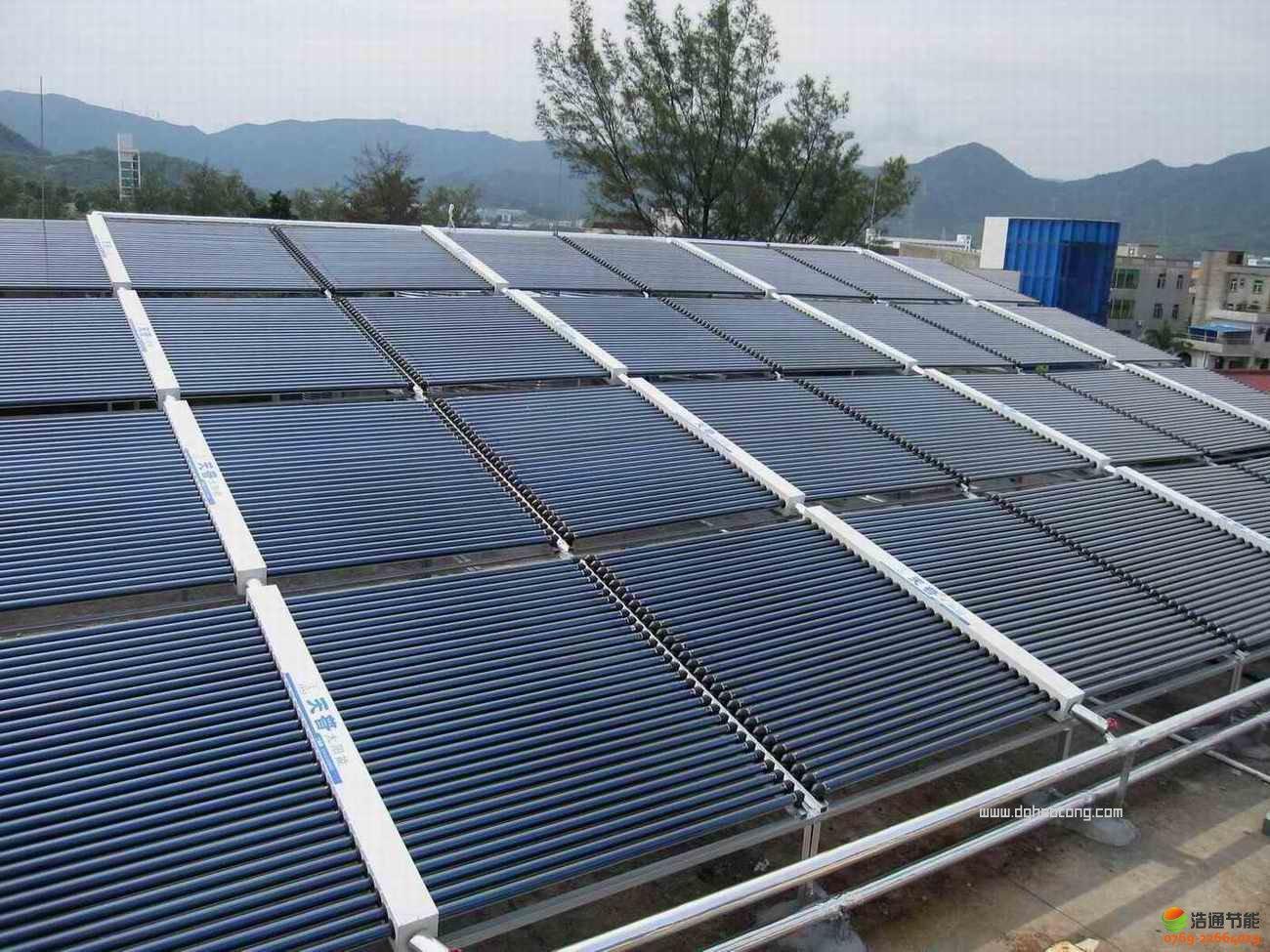 工厂宿舍太阳能热水工程系统解决方案