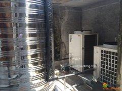 东莞厚街大风车幼儿园5P浩通热泵配4吨水箱空气能热泵热水工程