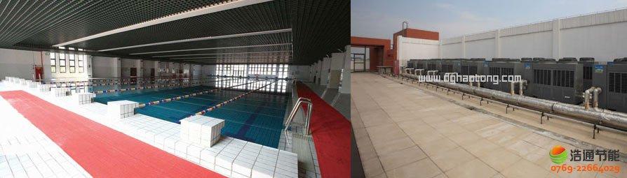 泳池养殖恒温空气能热水工程解决方案设计图纸