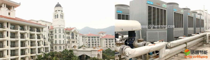 美的空气能热水器和酒店/宾馆空气能热水工程解决方案