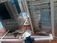 湖北黄石如家酒店10匹10吨美的空气能热泵热水工程项目