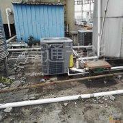 万怡酒店  日供10吨格力空气能热水工程+增加一台5P热泵
