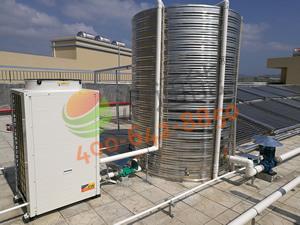 深圳市宝斯特科技有限公司(惠州工厂)――5吨浩通太阳能+空气能热水工程