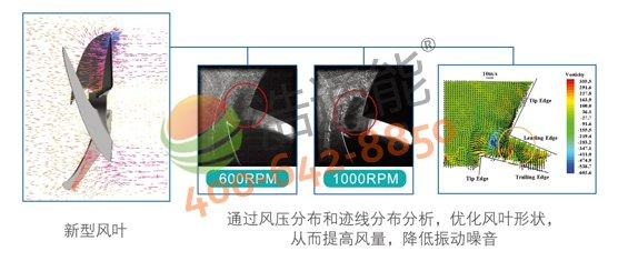 【美的空气能热水器5P循环式RSJ-200/MS-540V1】CFD优化设计风道,大风量、低噪音