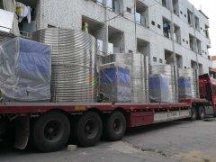 10匹10吨8套美的商用空气能整体机【贵州兴义发电场项目】