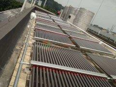松下万宝美健生活电器(广州)有限公司――二期10吨太阳能热水工程