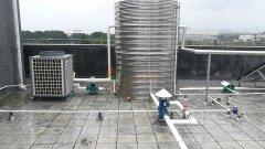广东韶关乐昌工业园――5吨太阳能+空气能热泵热水工程项目