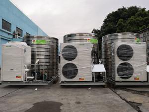 武汉洛飞健身俱乐部――5匹5吨浩通能商用空气能整体机项目