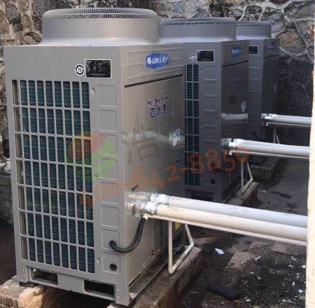中国人民解放军安徽某部队――格力30匹20吨空气能热水工程项目