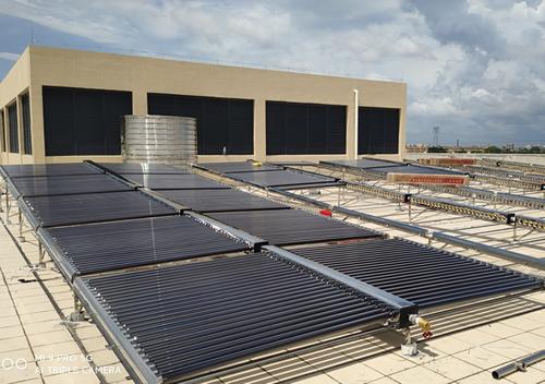 湖南省兴业肉类机械有限公司博罗石湾加工厂10吨太阳能+空气能热水工程项目