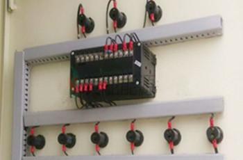 浩通热水工程——把外部的所有电源线,对应接到所控制的开关