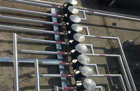浩通热水工程——水管、线管的布置