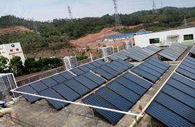浩通热水工程——太阳能热水器模块定位